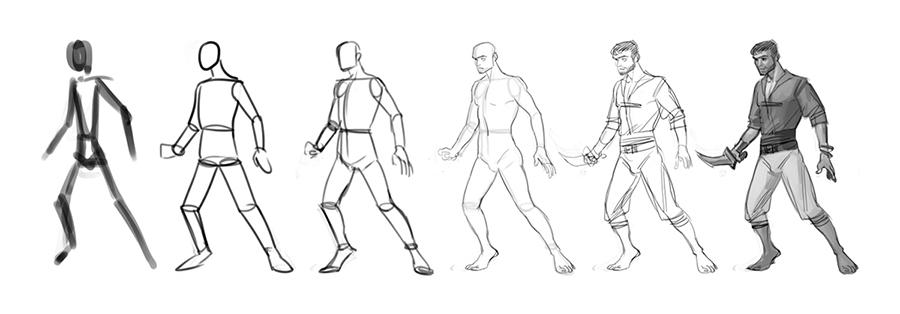 comment dessiner des mannequin