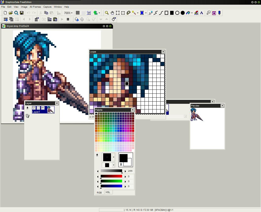 pixel art logiciel