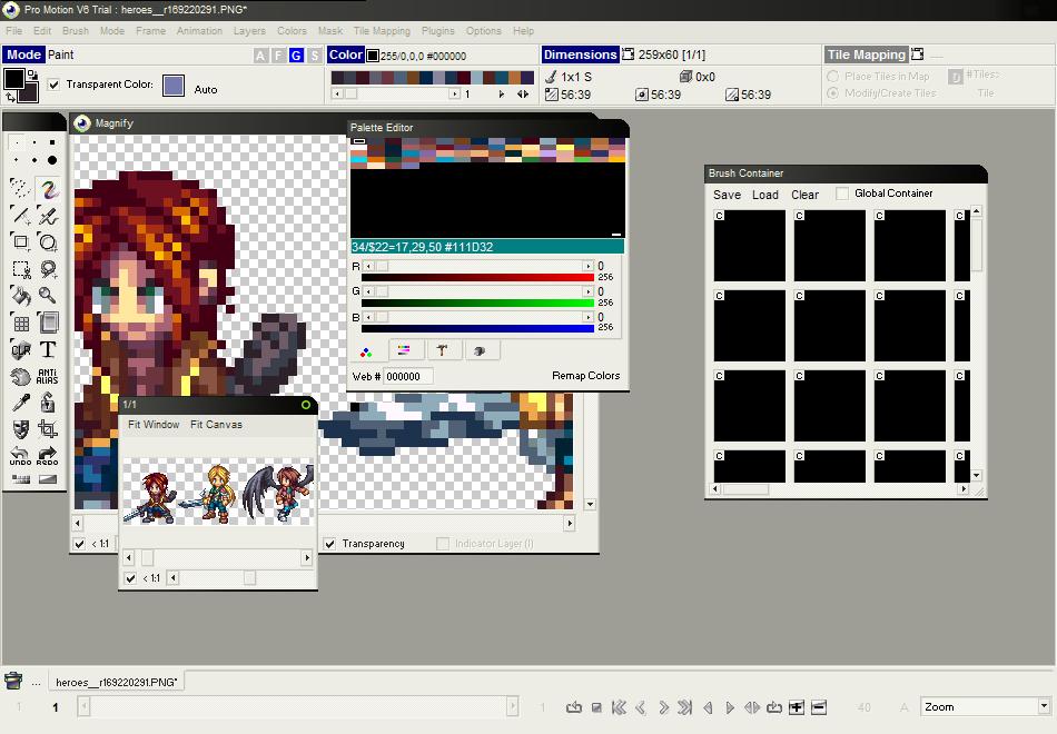 Les Forges Cours De Pixel Art 2 Les Bons Outils